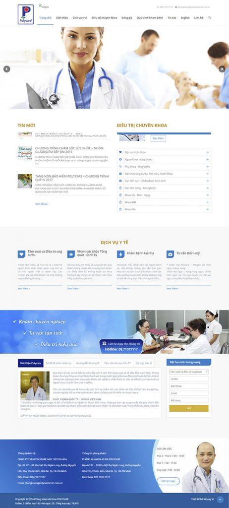 website phong kham benh